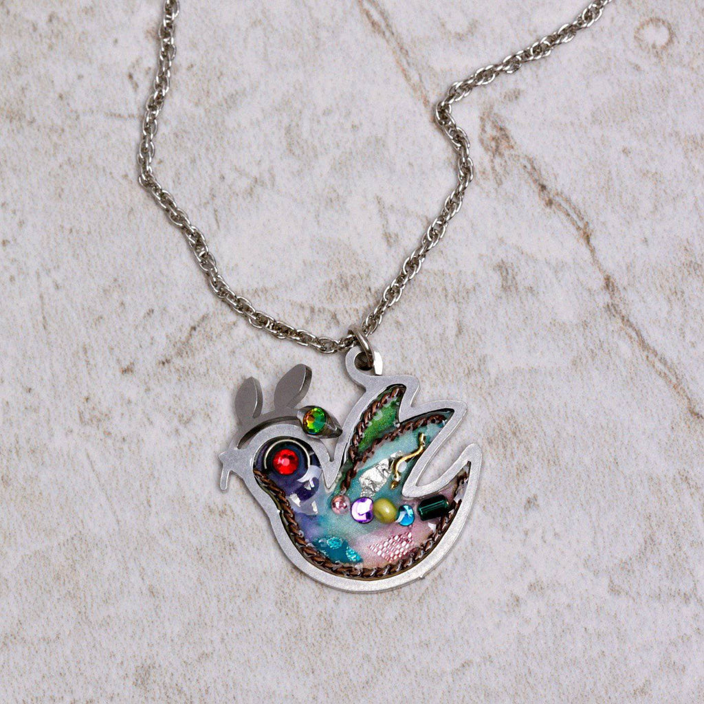 Petite Dove of Peace Necklace - Seeka - Coco and Duckie