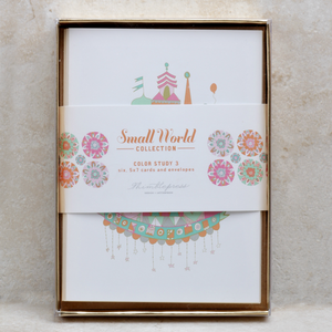 It's a Small World Color Study Card Set