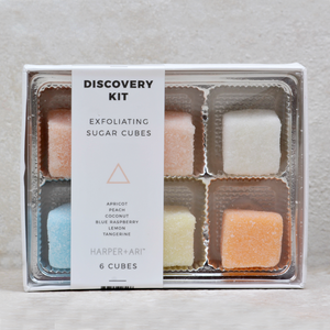 Sugar Cube Scrub Gift Set | Discovery Kit