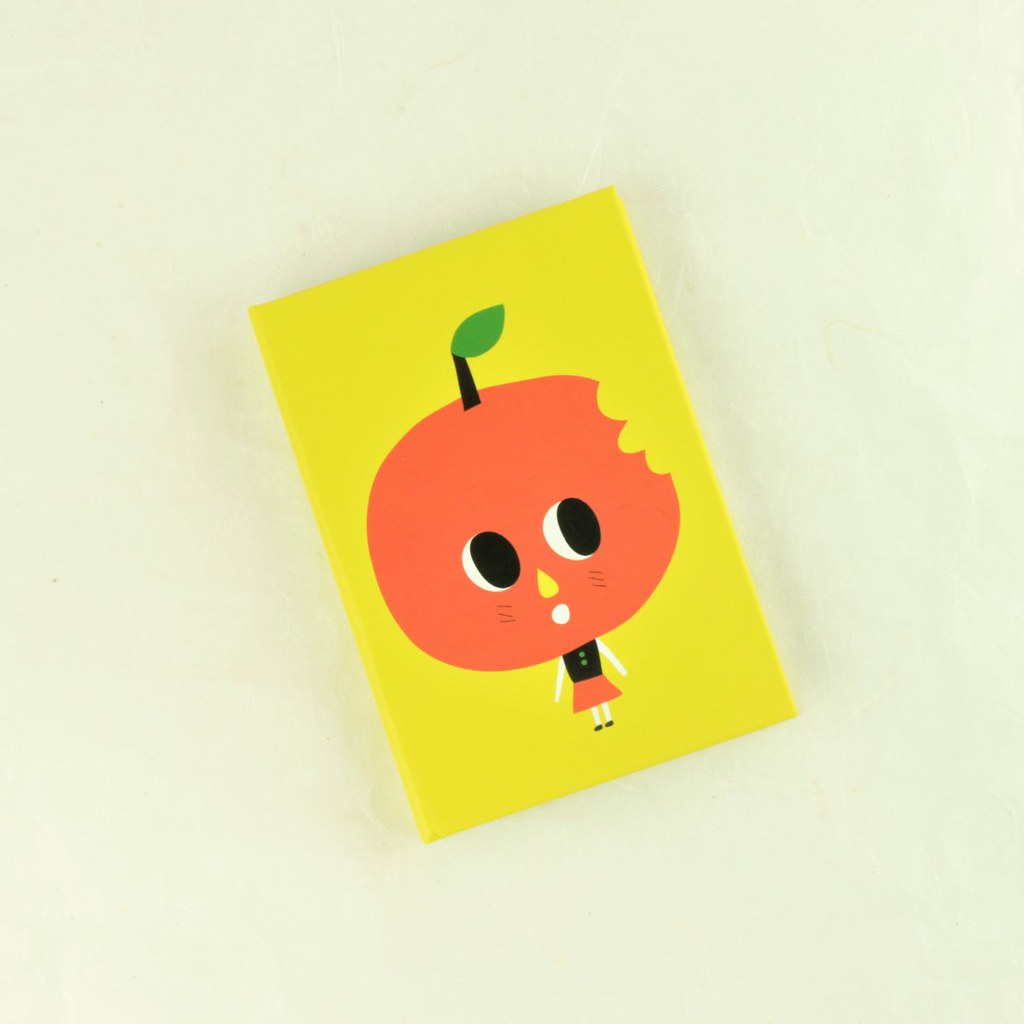 Apple Girl Sticky Book
