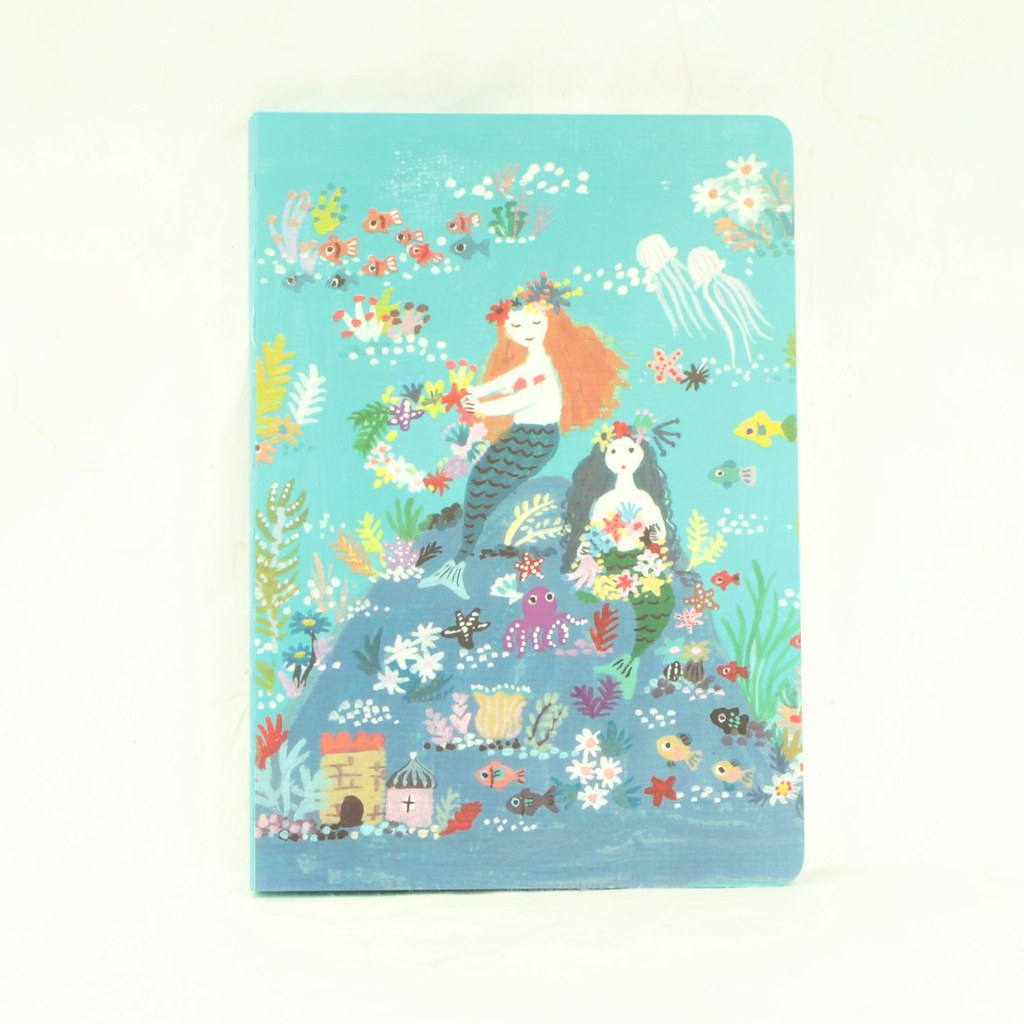 Mermaid Island Notebook - Teneues - Coco and Duckie