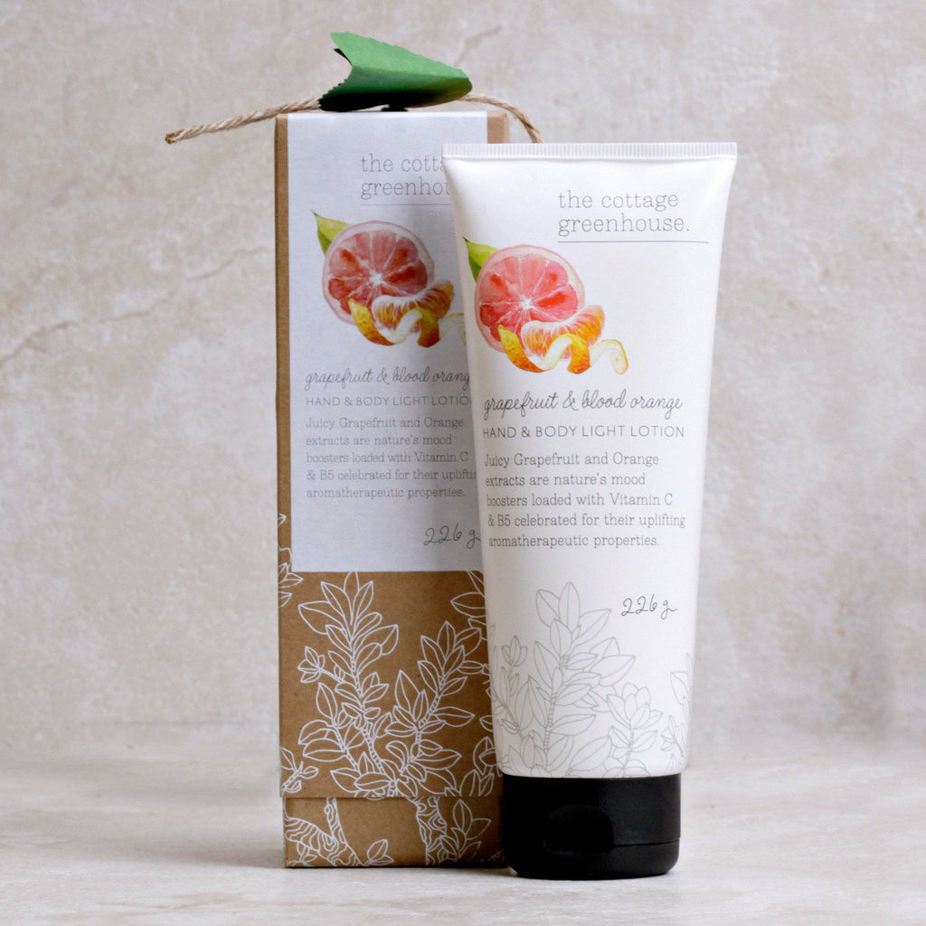 Grapefruit & Blood Orange Hand & Body Lotion | The Cottage Greenhouse - The Cottage Greenhouse - Coco and Duckie