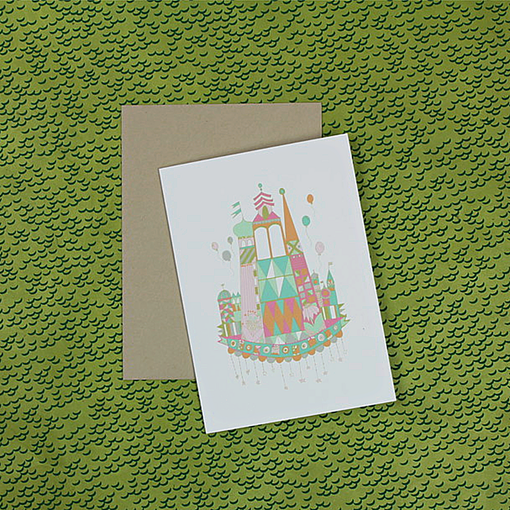 It's a Small World Boxed Cards - Thimblepress - Coco and Duckie