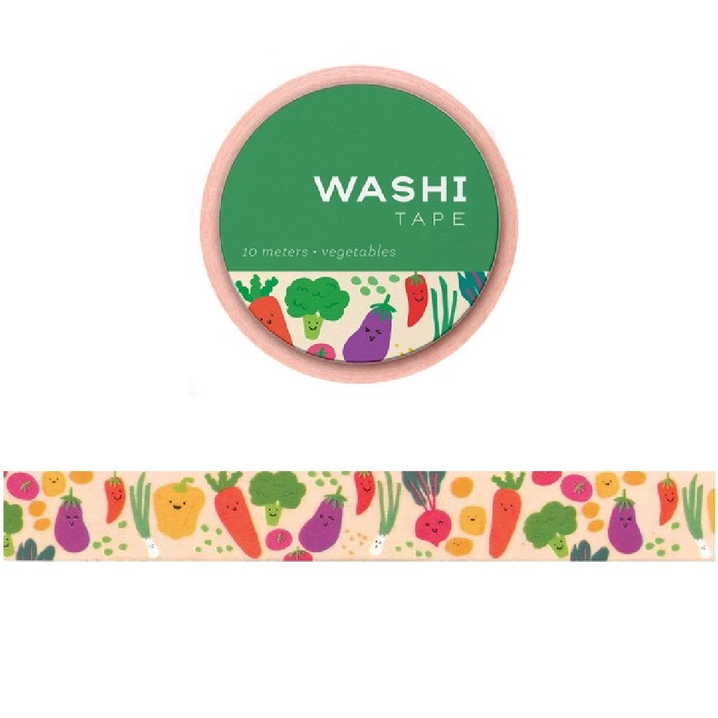 Vegetables Washi Tape - Girl of All Work - Coco and Duckie