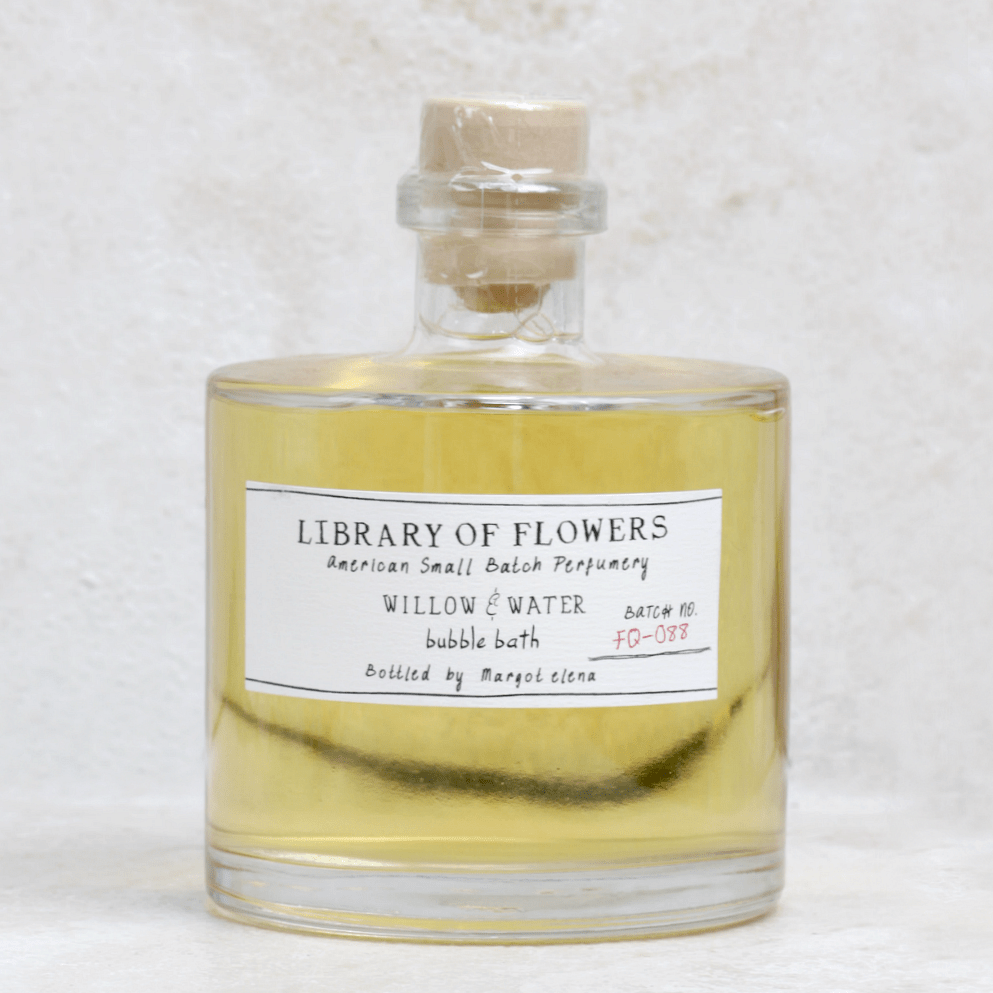 Willow & Water Bubble Bath - Library of Flowers - Coco and Duckie