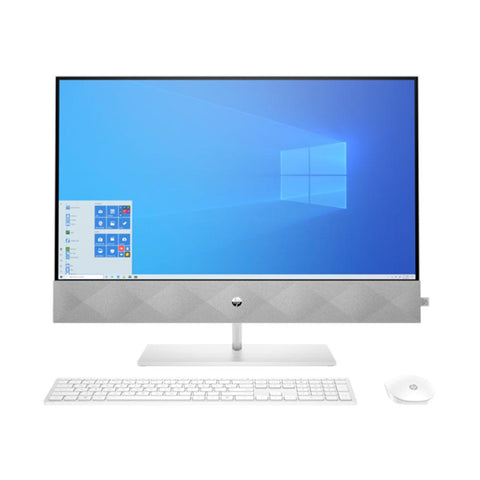 "Image of Hp Pavilion 3UR11AA i7-10700T 16GB 1TB HDD+256GB SSD 27"" Touch Screen NVIDIA MX350 4GB Snow Flake"