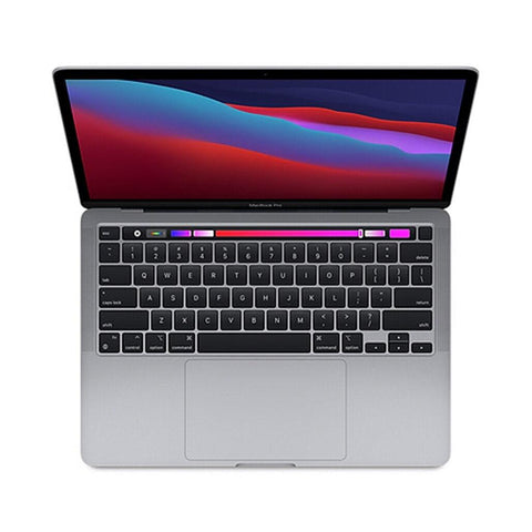 "Apple MacBook Pro 2020 Apple M1 Chip with 8-Core 16GB RAM 1TB SSD 13.3"" 8 Core GPU Touch Bar & Touch ID Space Gray - 961souq.com"