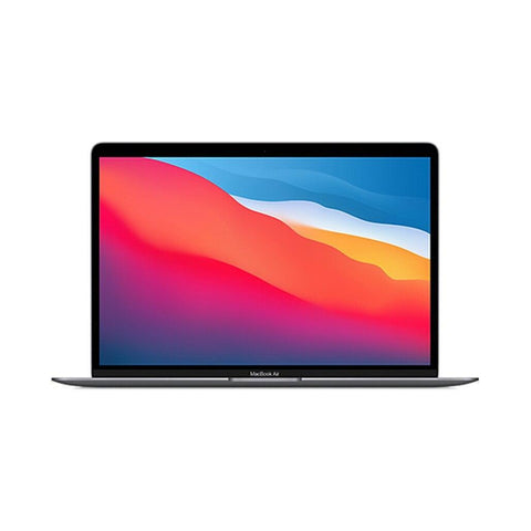 "Image of Apple MacBook Air 2020 Apple M1 Chip 8-Core 16GB RAM 256GB SSD 13.3"" 7- Core GPU Touch ID Space Gray - 961souq.com"