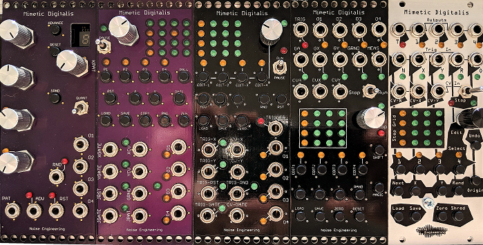 The  Mimetic Digitalis  was an early module that had a LOT of revisions and took years to find its final form.