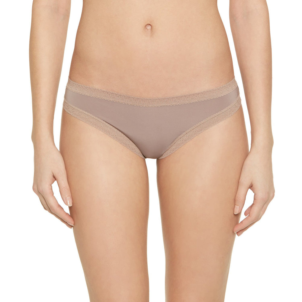 Pretty Little Panties - microfiber thong panties - taupe - Blush Lingerie - Max and Me Sport