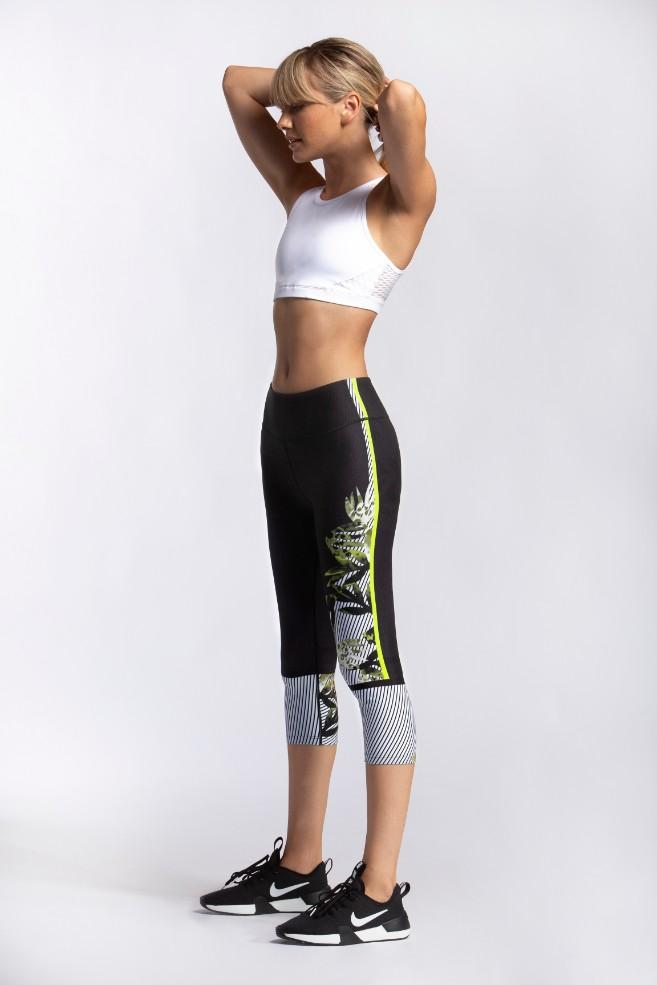 Different Shades High Waist Capri - MAX & ME SPORT
