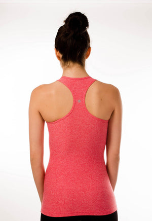 Racerback Tank Top - Red Heather - 90 Degree by Reflex Clearance