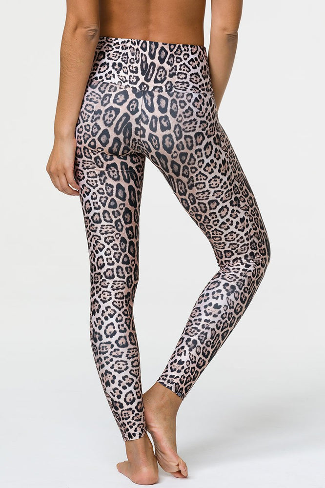High Rise Legging - Leopard - Onzie New Arrivals