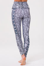High Rise Legging - Black/White Viper - Onzie New Arrivals