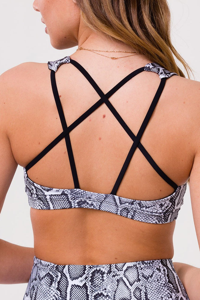 Mudra Bra - Black/White Viper - Onzie New Arrivals