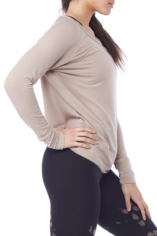 Organic Raw Pullover with Thumbholes - LVR Clearance
