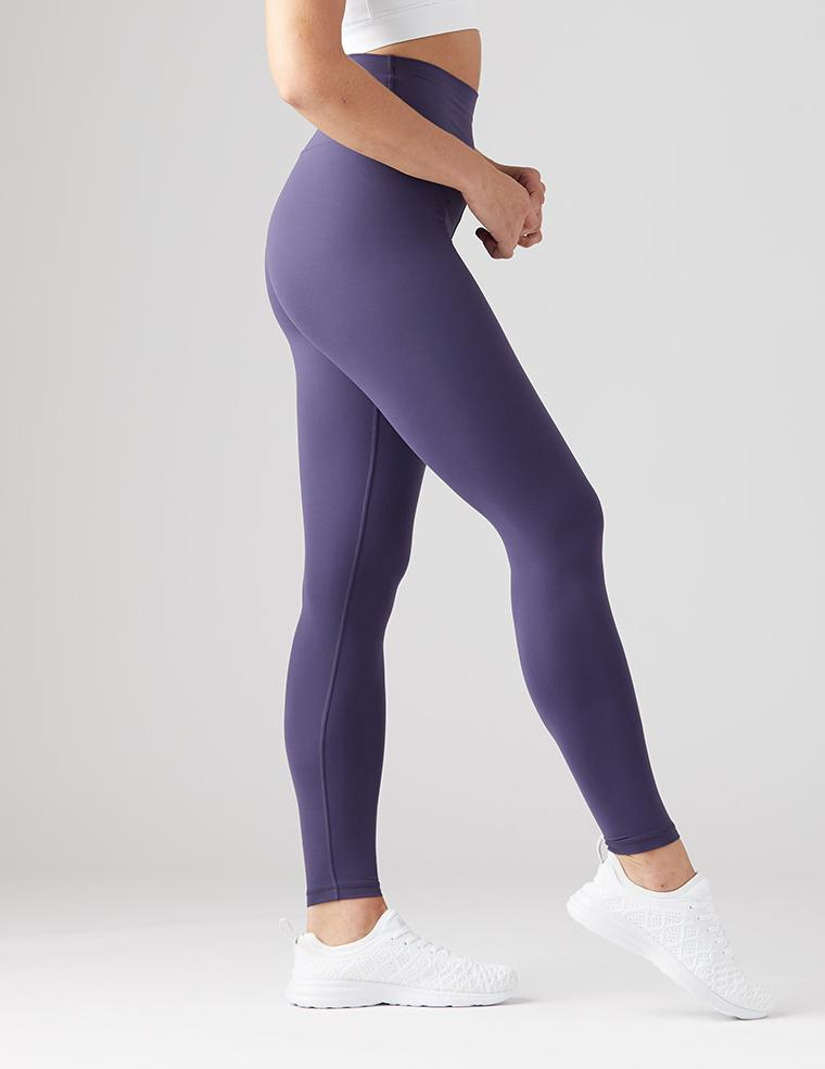 High Waist Pure Legging - Night Blue - Glyder Sale