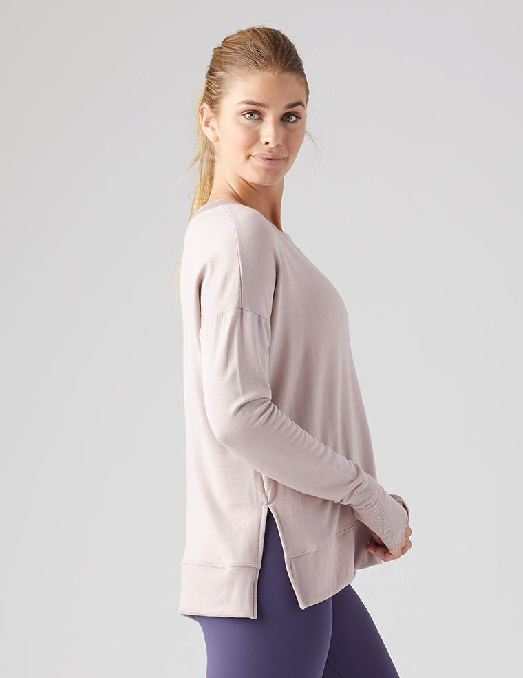 Lounge Long Sleeve - Adobe Rose - MAX & ME SPORT