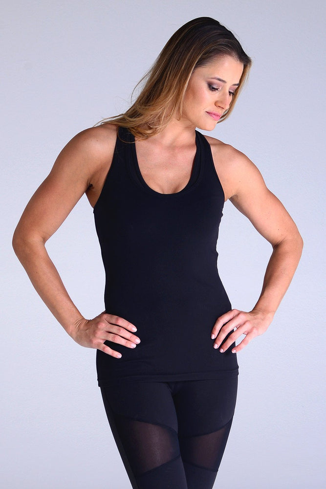Performa Tank - Black - Glyder Clearance