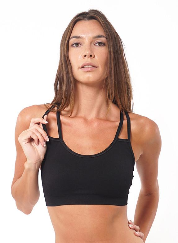 Strappy Bra - Black