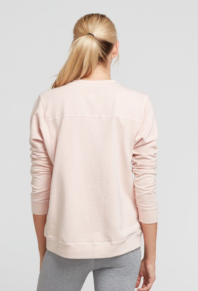 Pia Sweatshirt - Blush - CHICHI Active Clearance