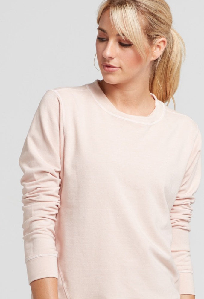 Load image into Gallery viewer, Pia Sweatshirt - Blush - CHICHI Active Clearance