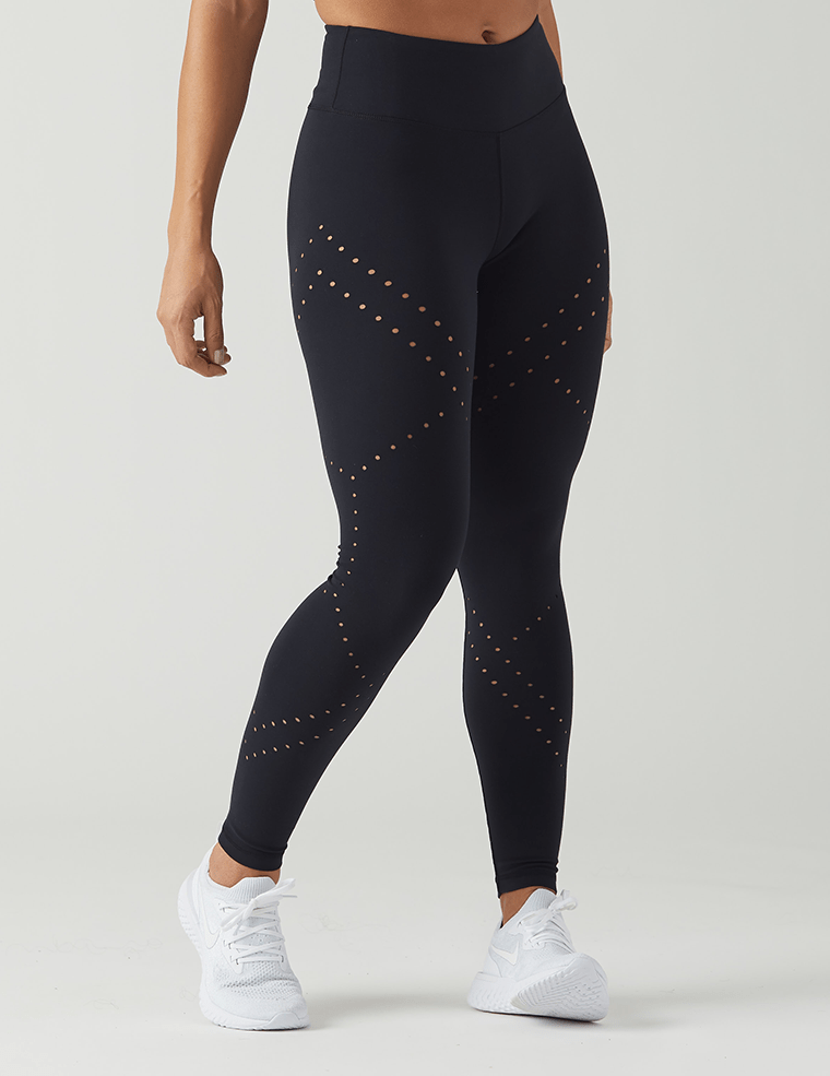 Load image into Gallery viewer, Dash Legging - Black - MAX & ME SPORT