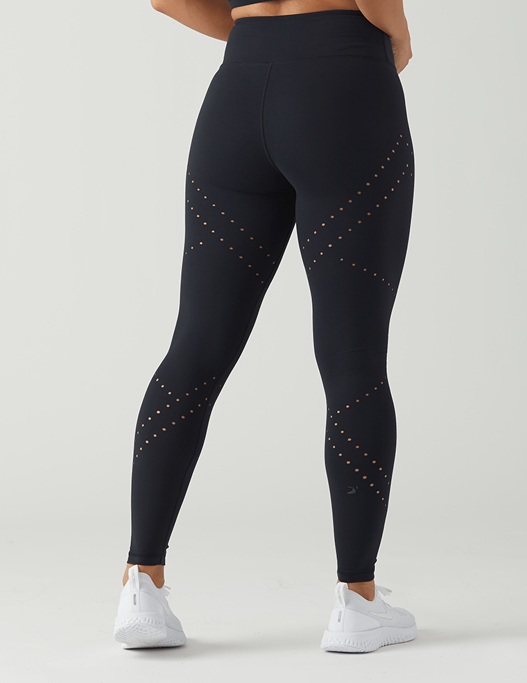 Load image into Gallery viewer, Dash Legging - Black - Glyder Leggings