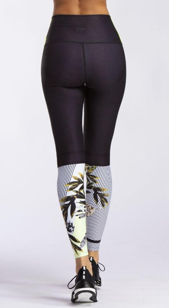 Different Shades High Waist Legging - WITH Sale