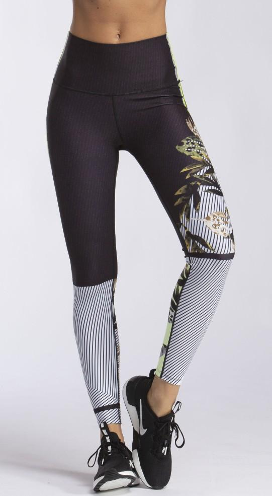 Different Shades High Waist Legging - MAX & ME SPORT