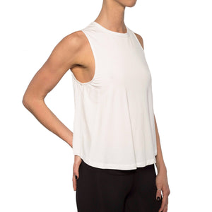 Load image into Gallery viewer, Trust Twist Back Muscle Tank - MAX & ME SPORT
