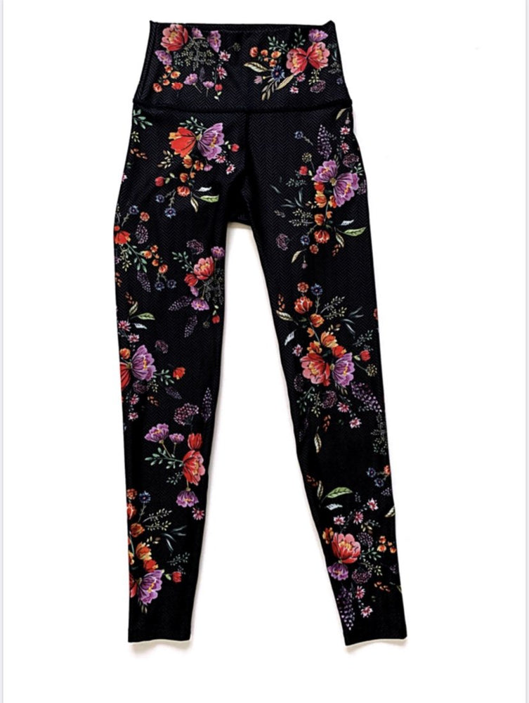 All These Flowers High Waist Legging - WITH Sale