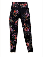 All These Flowers High Waist Legging - WITH Leggings