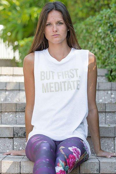 MEDITATE Muscle Tank - MAX & ME SPORT