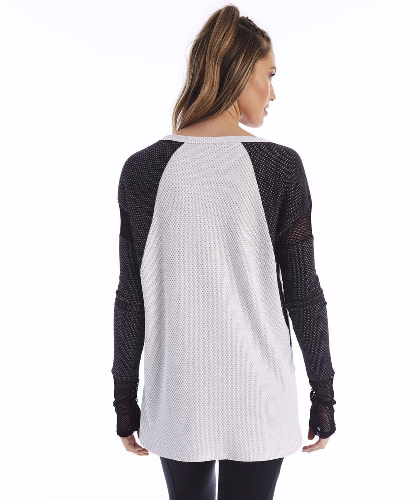Purgos Long Sleeve - Optic White/Black Onyx Dot - Lukka Lux Clearance