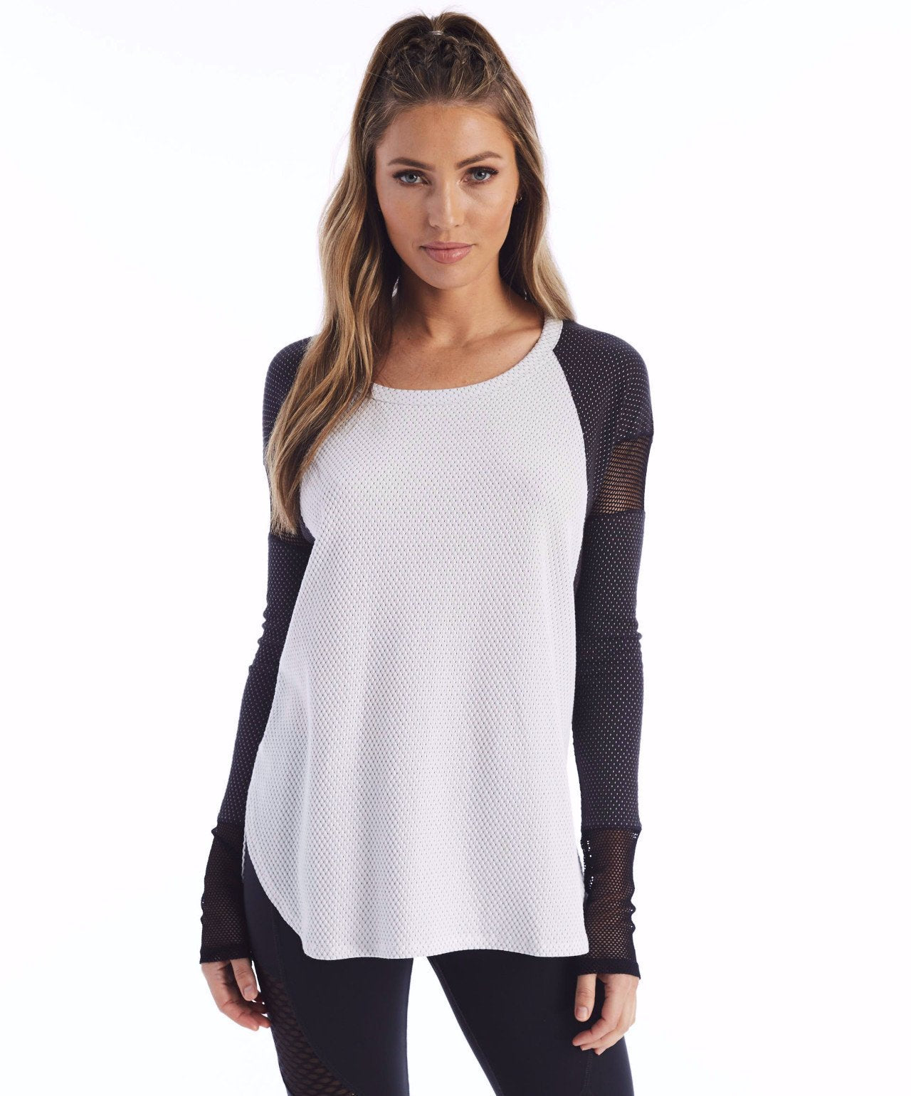Purgos Long Sleeve - Optic White/Black Onyx Dot