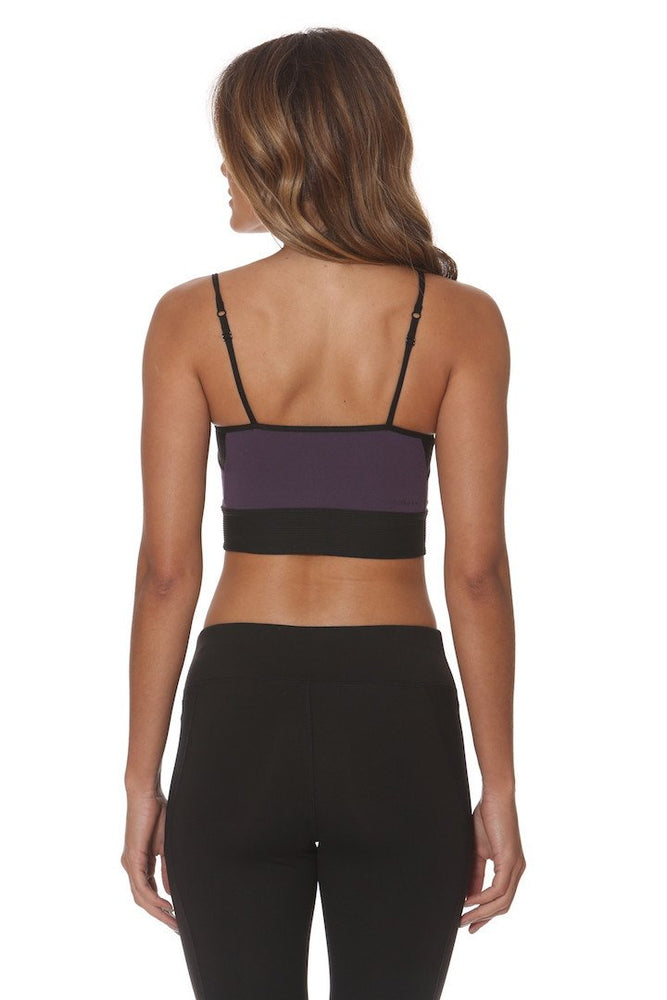 Skakkur Bra - Purple/Black - Lukka Lux Clearance
