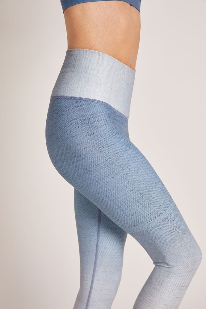 Load image into Gallery viewer, Celestite Dip Dye High Waist Legging - MAX & ME SPORT