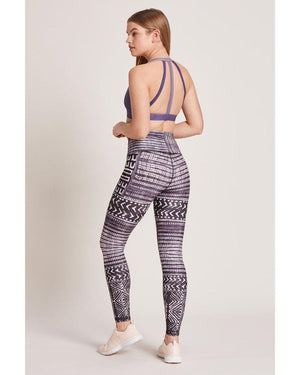 Load image into Gallery viewer, Kenya Amethyst High Waist Legging - MAX & ME SPORT