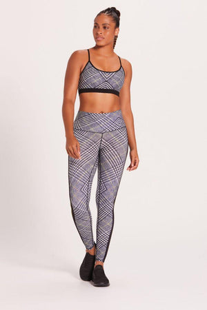 Racer Plaid Barefoot Legging - Niyama Sol Leggings