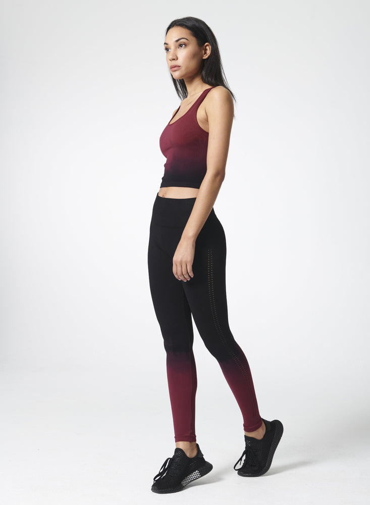 Awakened Legging - Black/Melbec Ombre' - NUX New Arrivals