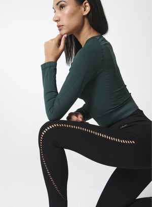 Load image into Gallery viewer, Contour Legging - Black - NUX New Arrivals