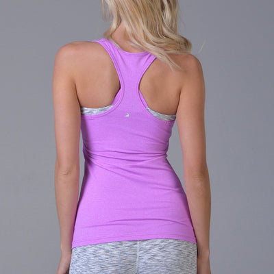 Performa Tank - Electric Berry Heather - MAX & ME SPORT