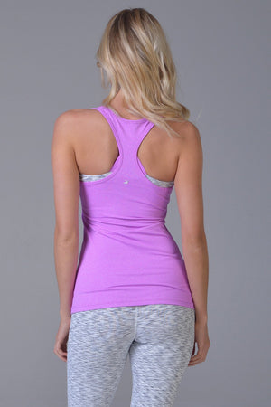Performa Tank - Electric Berry Heather - Glyder Clearance