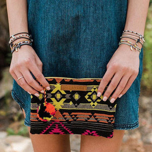 Load image into Gallery viewer, Nightglow Pouch - Pura Vida Pouches/Clutches
