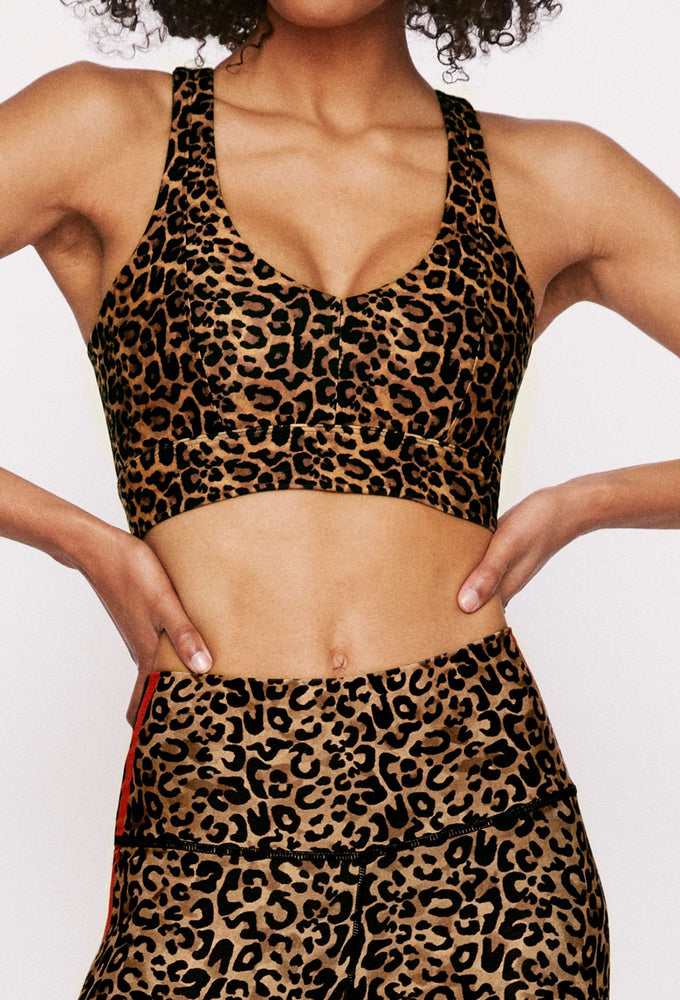 Real Cheetah Irene Bra - Max and Me Sport - Wear it to Heart