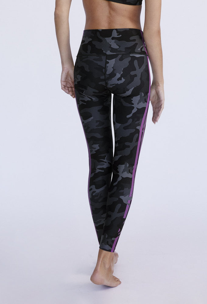 Black Camo High Waist Legging - MAX & ME SPORT