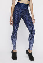 Blue Chill Cheetah High Waist Legging - MAX & ME SPORT