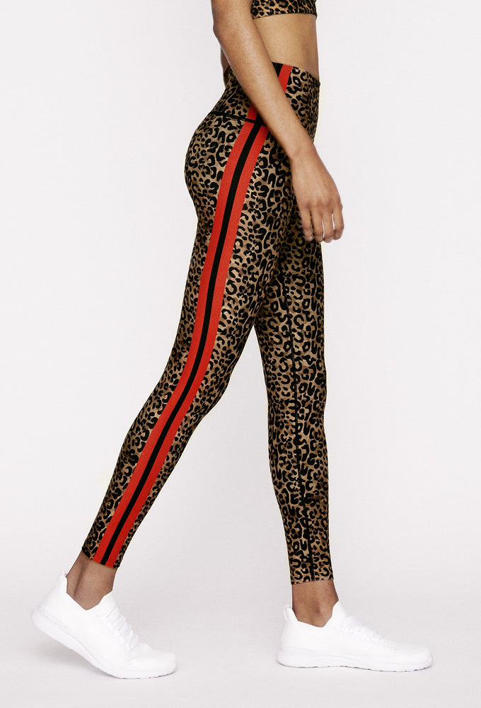 Natural Cheetah High Waist Legging - Max and Me Sport - Wear It To Heart