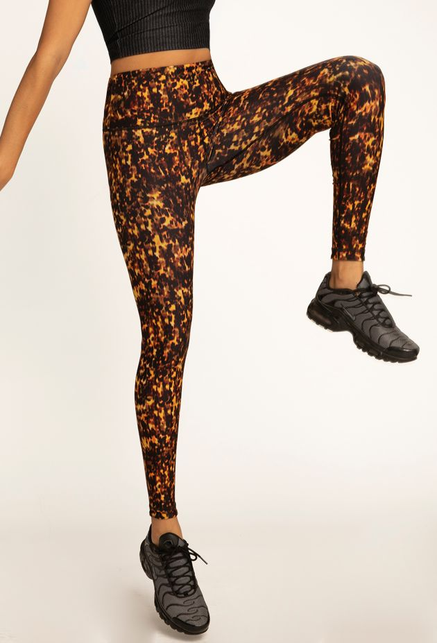 Tortoise Shell Reversible Legging - WITH New Arrivals